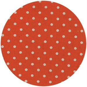 Momo, Linen Mochi Dot, Tangerine