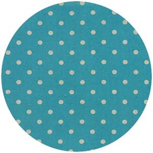 Momo, Linen Mochi Dot, Turquoise