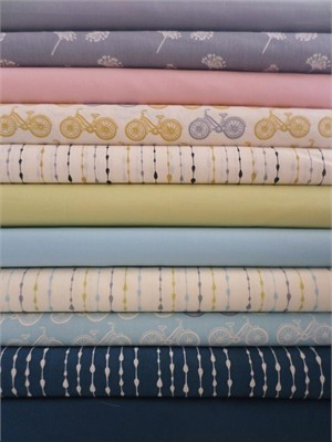 Moda, Organic Sampler in FAT QUARTERS 10 Total