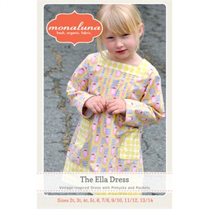 Monaluna Sewing Pattern, The Ella Dress