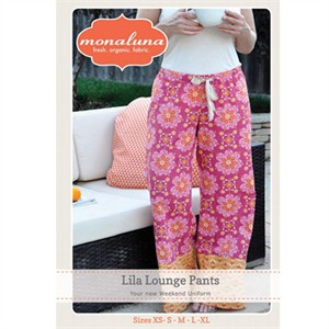 Monaluna Sewing Pattern, Lila Lounge Pants