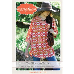 Monaluna Sewing Pattern, Tea Blossom Tunic