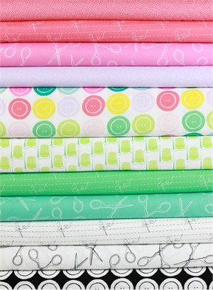 Windham Fabrics, Snippits in FAT QUARTERS 10 Total (Pre-cut)