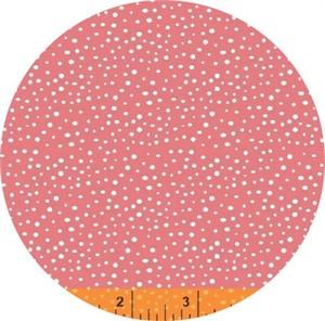 Windham Fabrics, Snippits, Splatter Coral