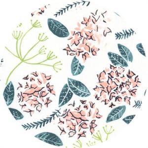 Rae Richie for Dear Stella, Desert Bloom, Moss Floral Multi