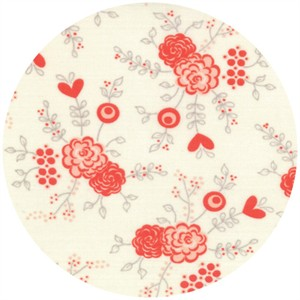 Moda, Table For Two, Flower Garden White Diamond