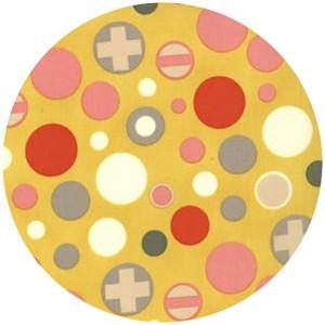 Moda, 2wenty Thr3e, Plus Dots Mustard