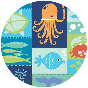 Monaluna, Under the Sea, Sea Life Patchwork
