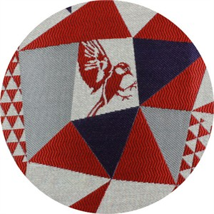 Echino, HEAVYWEIGHT JACQUARD, Mountain Red