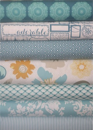 My Mind's Eye, Lost and Found 2, Aqua in FAT QUARTERS 7 Total