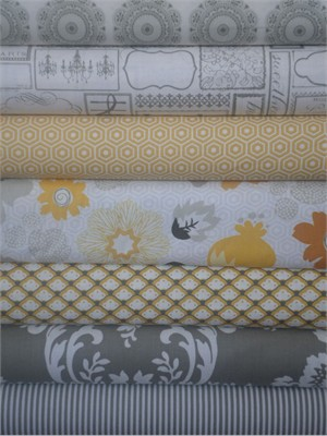 My Mind's Eye, Lost and Found 2, Gray in FAT QUARTERS 7 Total