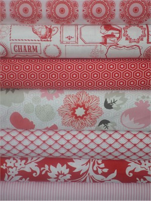 My Mind's Eye, Lost and Found 2, Red in FAT QUARTERS 7 Total