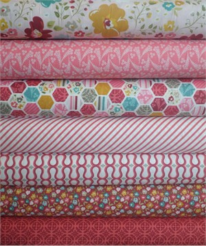 My Mind's Eye, Unforgettable, Pink in FAT QUARTERS 7 Total