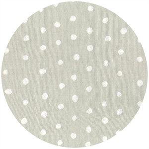 Nani Iro, DOUBLE GAUZE, Dot Grey