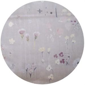 Nani Iro, DOUBLE GAUZE, Wildflowers Lavender
