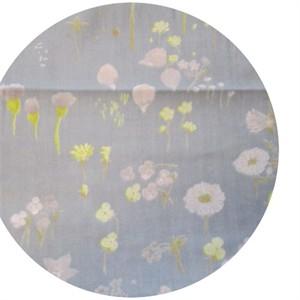 Nani Iro, DOUBLE GAUZE, Wildflowers Periwinkle