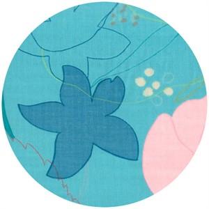 Naomi Ito for Nani Iro, Waltz Turquoise