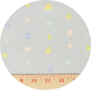 Nani Iro, PLISSE, Paint Dot Grey