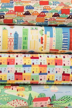 Windham Fabrics, Neighborhood in FAT QUARTERS 9 Total