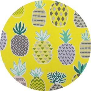 Cosmo Textiles, OXFORD, Pineapple Delight Yellow