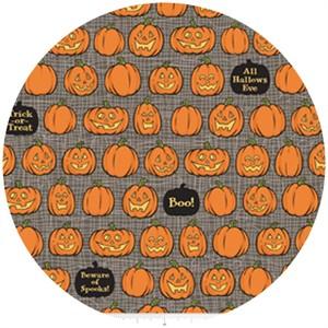 October Afternoon, Witch Hazel, Pumpkins Gray