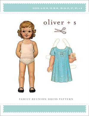 Oliver + S Sewing Pattern, Family Reunion Dress