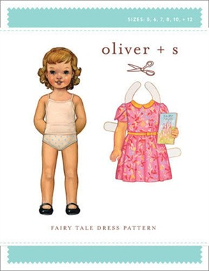 Oliver + S Sewing Pattern, Fairy Tale Dress (Sizes 6m - 4)