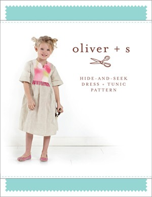 Oliver + S Sewing Pattern, Hide-and-Seek Dress & Tunic