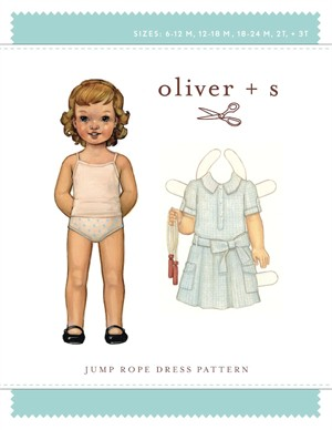 Oliver + S Sewing Pattern, Jump Rope Dress