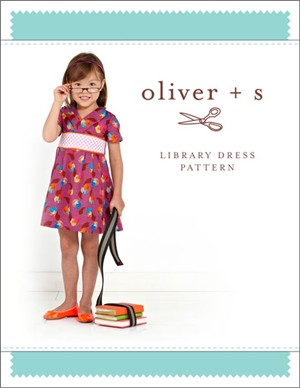 Oliver + S Sewing Pattern, Library Dress (Sizes 6m-4)