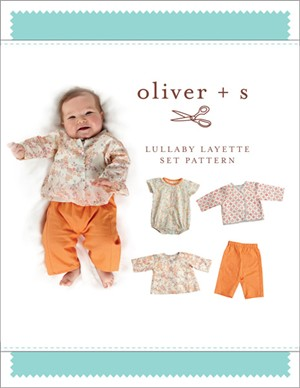 Oliver + S Sewing Pattern, Lullaby Layette