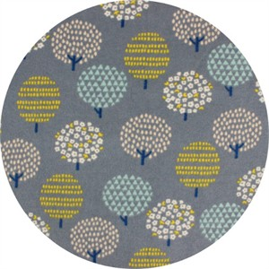 Cosmo Textiles, FLANNEL, Orchard Grey