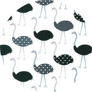 Robert Kaufman, Urban Zoo, Ostrich Charcoal