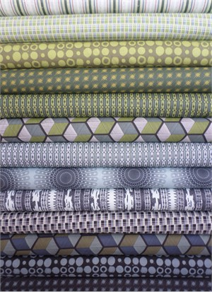 Parson Gray, Vagabond, Citron in FAT QUARTERS 13 Total