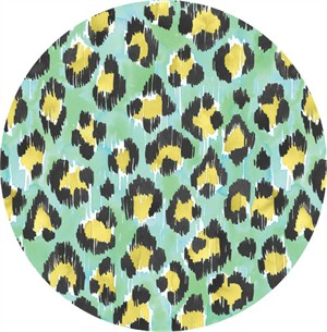 Josephine Kimberling for Blend, Tropical Paradise, Painted Leopard Mint