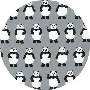 Sevenberry for Robert Kaufman, Mini Prints, Panda Grey