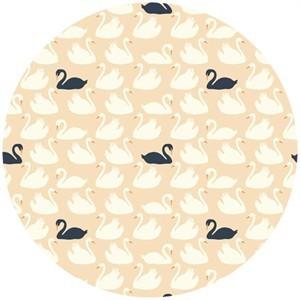 Patrick and Andrea Patton for Birch Organic Fabrics, Swan Lake, Bevy Shell