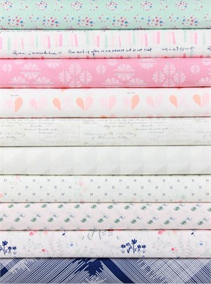 Amy Sinibaldi for Art Gallery, Paperie in FAT QUARTERS 10 Total