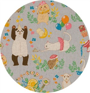 Japanese Import, CANVAS, Party Animals Cloud