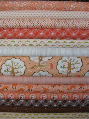 Patty Sloniger, Les Amis, Dawn in FAT QUARTERS, 12 Total