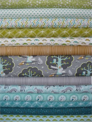 Patty Sloniger, Les Amis, Dusk in FAT QUARTERS, 12 Total