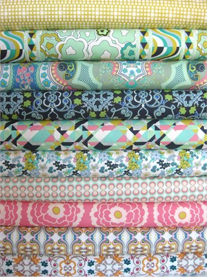 Pat Bravo, Carnaby Street, Cool Peace in FAT QUARTERS, 10 Total