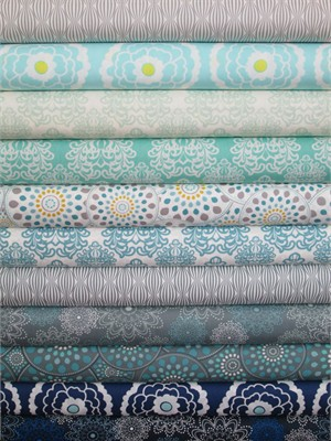Pat Bravo, Essentials, Midnight in FAT QUARTERS 11 Total