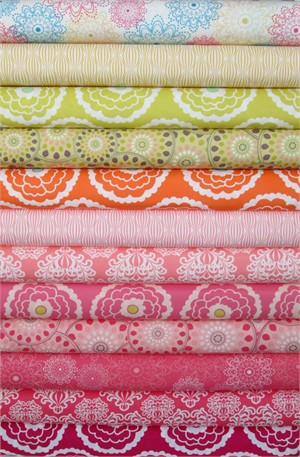 Pat Bravo, Essentials, Summer in FAT QUARTERS 11 Total