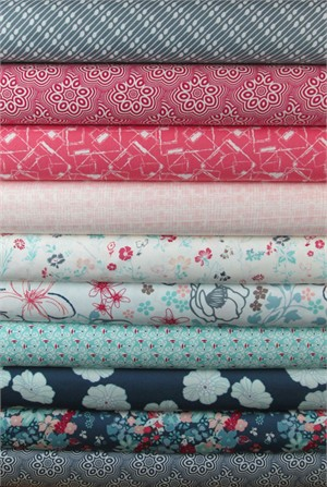 Pat Bravo, NouvElle in FAT QUARTERS 10 Total (PRE-CUT)