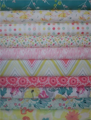 Pat Bravo, Rapture, Citric Happiness in FAT QUARTERS 10 Total