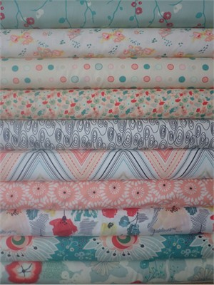 Pat Bravo, Rapture, Subtle Joy in FAT QUARTERS 10 Total