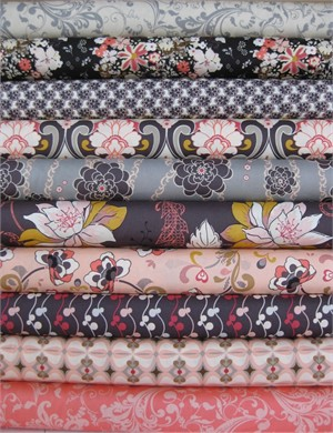 Pat Bravo, Rock N Romance, Heartbreaker in FAT QUARTERS 10 Total