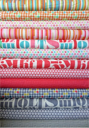 Patty Young, Just My Type, Paprika in FAT QUARTERS 12 Total