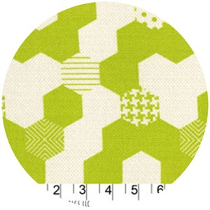 Patty Young, Textured Basics, Hexies Lime